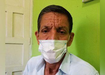 Fredy Zelaya, presidente de seccional 20 del Sitramedhys.