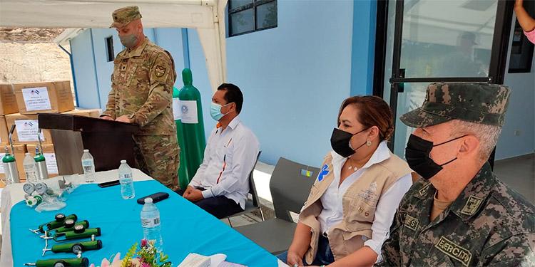 En la entrega participaron autoridades de Salud, municipales y Fuerza Bravo, entre otras.