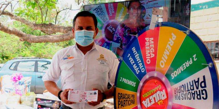 Luis Pinel dijo que muchos premios traen nuevamente esta fabulosa promoción para las madres hondureñas.