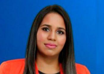 La galardonada Karen Liliana Sauceda Pastor es originaria de Danlí, El Paraíso y con 12 años de residir en Choluteca.