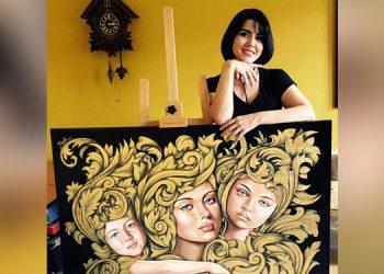 Con 23 años de carrera profesional, Keyla Morel ha expuesto sus pinturas en Nueva York, Brasil, Suiza, Austria, República Checa, entre otros países.