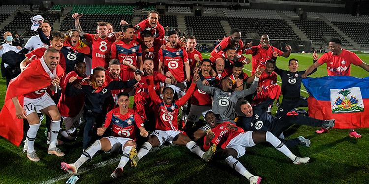 Lille se coronó campeón en Francia.