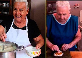 """Ángela Paz Chávez ha logrado llevar sonrisas y sobre todo enseñanzas de la cocina a muchas personas a través de su página """"La abuela Lita"""", en Facebook."""