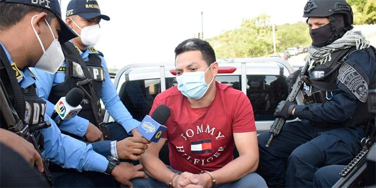 El exagente policial Erlyn David Domínguez Banegas alegó en todo momento ser inocente del doble crimen que se le imputa.