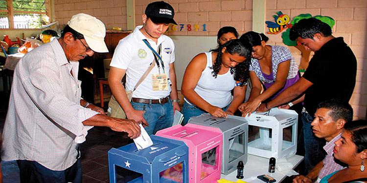 Los partidos tendrán observadores para que vigilen la votación y el escrutinio en las mesas receptoras de votos.
