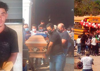 """Elí Saúl Vargas Borjas (31), alias """"El Mudo"""", fue trasladado ayer en la mañana a los juzgados, acusado de la muerte de un transportista, en el mercado Jacaleapa."""