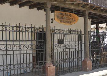 Las instalaciones del museo municipal de Danlí, El Paraíso, ahora más bien son usadas como bodega.