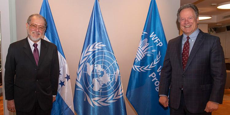 Conversaron sobre la participación de Honduras en los diálogos nacionales que se realizan sobre los sistemas alimentarios.