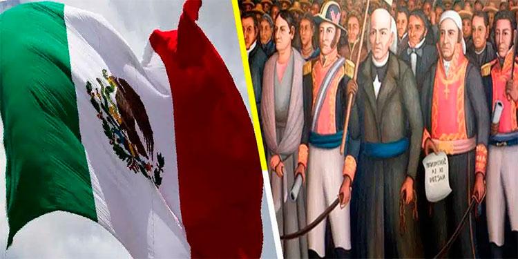 Hoy se celebra la independencia de México.