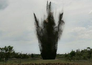 Ayer se destruyó otra Área Clandestina de Aterrizaje en la región de Brus Laguna, Gracias a Dios.