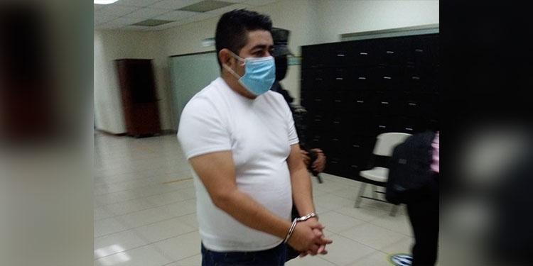 Wilfredo Gámez Pérez está acusado del secuestro de la taxista VIP, Glenis Castillo, en La Ceiba.