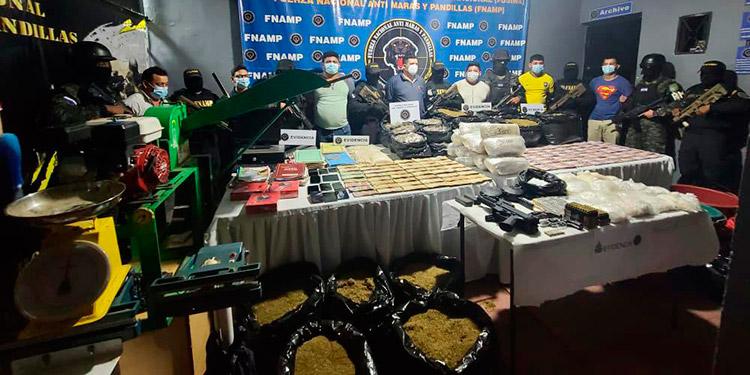 Los seis encausados fueron remitidos a la Penitenciaría Nacional de Támara.