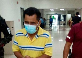Concepción Sánchez continuará recluido por el delito de homicidio en perjuicio de Julio César Tábora Mencía.