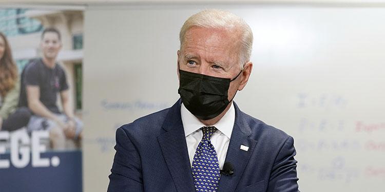 Joe Biden.  (LASSERFOTO AP)