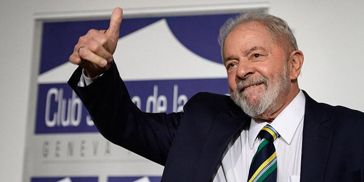 Lula da Silva. (LASSERFOTO AFP)