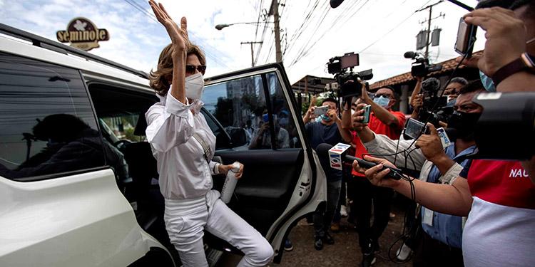 """Estados Unidos negó que exista """"evidencia de lavado de dinero"""" en las operaciones de la organización no gubernamental Fundación Violeta Barrios de Chamorro. (LASSERFOTO EFE)"""