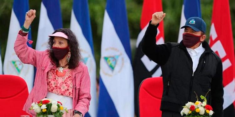 """La vicepresidenta de Nicaragua, Rosario Murillo, llamó """"criminales"""" y terroristas a los aspirantes a la Presidencia por la oposición."""