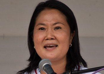 Keiko Fujimori. (LASSERFOTO AFP)