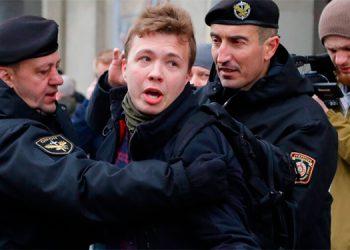Raman Pratasevich, fue detenido tras el desvío del avión en que se transportaba.