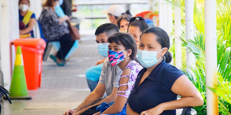 La región metropolitana de salud de San Pedro Sula reportó un incremento del 11 por ciento en los casos de COVID-19.