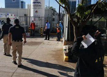 Tras la denuncia hecha por el doctor Carlos Umaña, se estarían inspeccionando los hospitales móviles para verificar irregularidades.