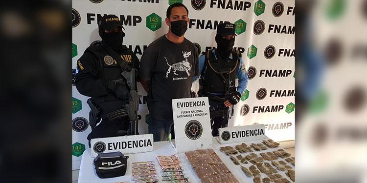 """A Saúl Fernando Osorio Flores, conocido con el alias de """"Al Sharawi"""", se le sindica de ser un distribuidor de drogas para la MS-13."""