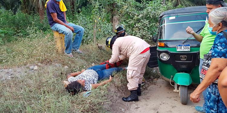 Esta semana los cuerpos de socorro reportaron varios rescates, lamentablemente a diario atienden unos diez accidentes viales.