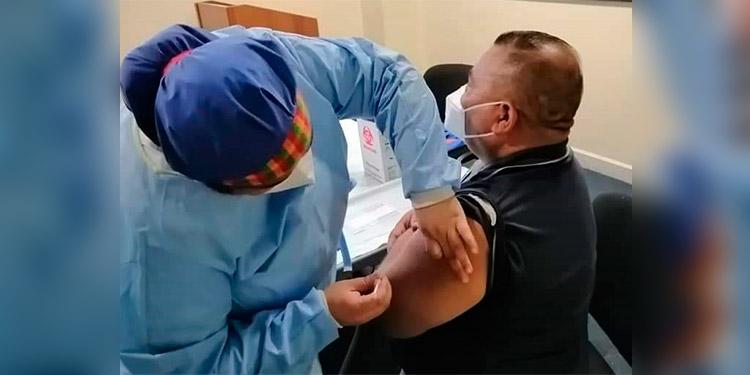 Este sábado comenzarán con el proceso de vacunación al personal del MP.
