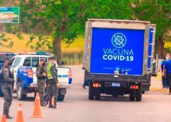 La semana pasada, El Salvador donó más de 34 mil vacunas a siete alcaldes hondureños.