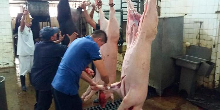 """La carne de res y cerdo que se vende en los mercados de Choluteca, debe llevar el sello de """"Carnilandia"""" y sanitario."""