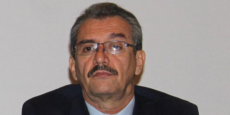 Wilfredo Guzmán, presidente de la Liga Nacional.