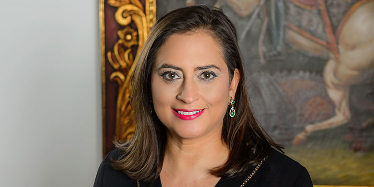 Valeria Ríos, la vicepresidente de Mercadeo y Comunicación de BAC Credomatic.