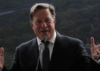 El expresidente de Panamá Juan Carlos Varela. EFE