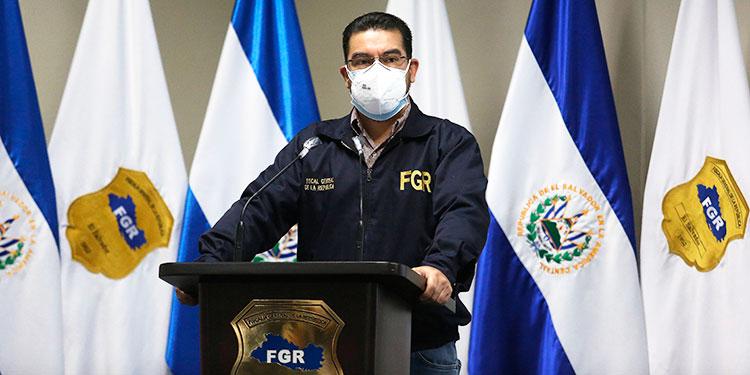 En la imagen, el ex fiscal general de El Salvador Raúl Melara. EFE/Miguel Lemus/Archivo.