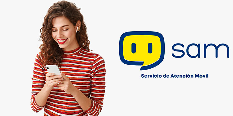 Sam fue creada con especiales características para interactuar y desarrollar toda su capacidad en conversaciones básicas y respuestas automáticas mediante el Facebook Messenger.
