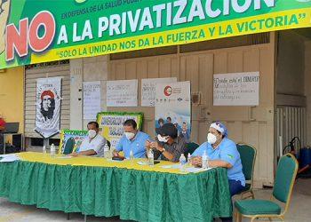 El líder sindical dijo que muchos siguen interesados que no se apruebe la nueva ley, porque es uno de sus grandes negocios.