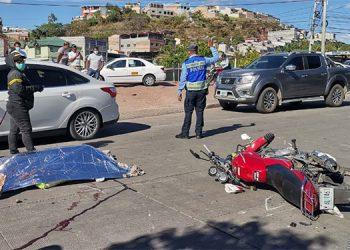 Los accidentes ocurren especialmente en Tegucigalpa, San Pedro Sula y La Ceiba, pero en los últimos días resaltan muertes en la zona rural.
