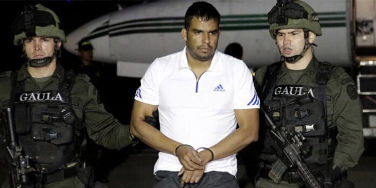 Montoya Úsuga llegó en julio de 2012 a Bogotá, luego de ser extraditado de Honduras.