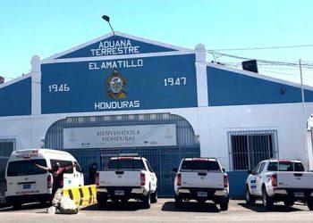 En la aduana del El Amatillo se registra el mayor flujo comercial entre hondureños y salvadoreños.