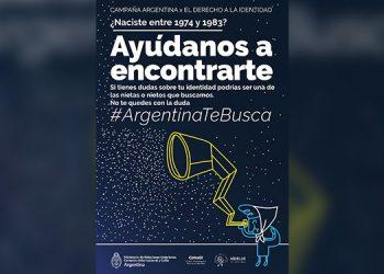 Muchos argentinos fueron separados de sus familias por lo que la campaña es orientada al derecho de las personas en reconocer su identidad.