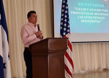 Rolando Argueta, presidente de la CSJ.