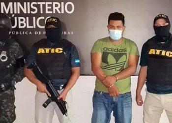 Ronal Edgardo Lagos Redondo, supuesto sicario de la MS-13, fue aprehendido en la colonia 21 de Febrero.