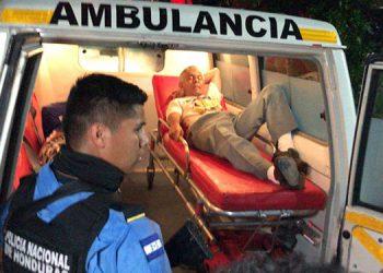 Los evangélicos resultaron heridos de bala en las piernas y fueron trasladados a un centro asistencial capitalino.