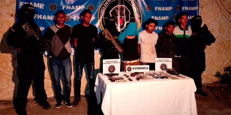 Los encausados y un menor de edad fueron detenidos el 6 de junio del 2019 por equipos de la FNAMP, en un trabajo conjunto con la Dipol.