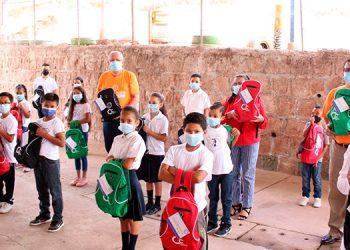 La jornada de donación se extenderá en escuelas públicas, ubicadas en San Pedro Sula, La Ceiba y Choluteca.