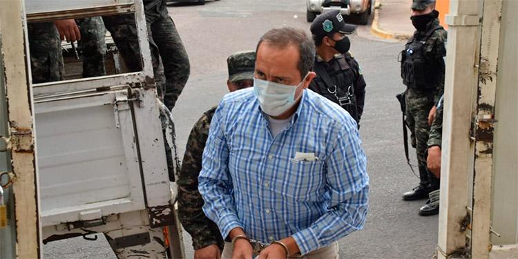 José Ramón Berttety Osorio, exgerente administrativo del IHSS.