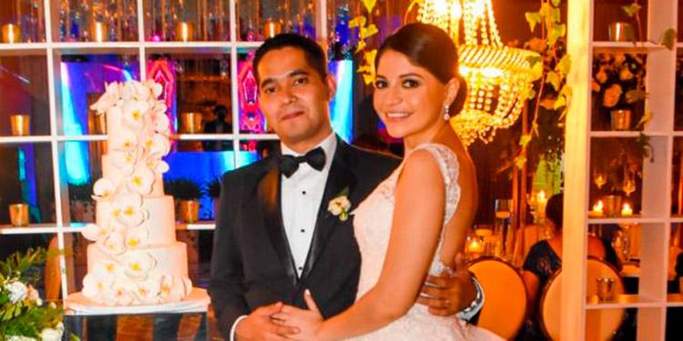 Rubén Girón y Melissa Alvarado.
