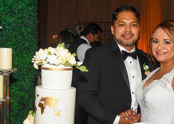 Los recién casados disfrutarán su luna de miel en Dubái.