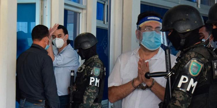 Marco Antonio Bográn y Alex Alberto Moraes Girón, conocerán hasta la otra semana si enfrentarán un juicio oral y público en su contra.