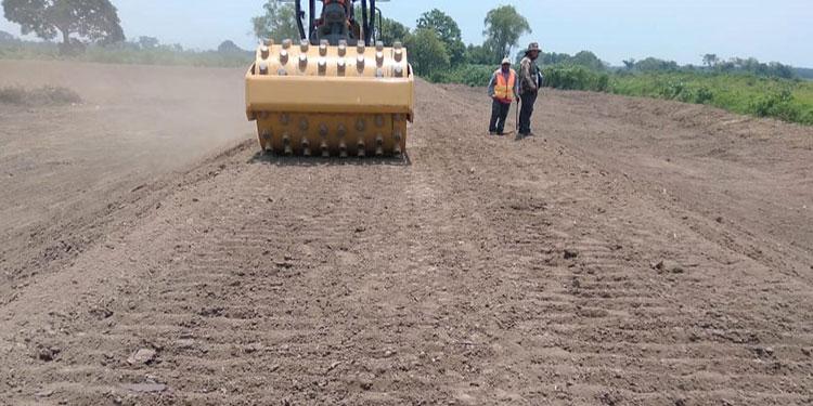 La reconstrucción de los bordos dañados en el Valle de Sula continúa avanzando, según la CCIVS.